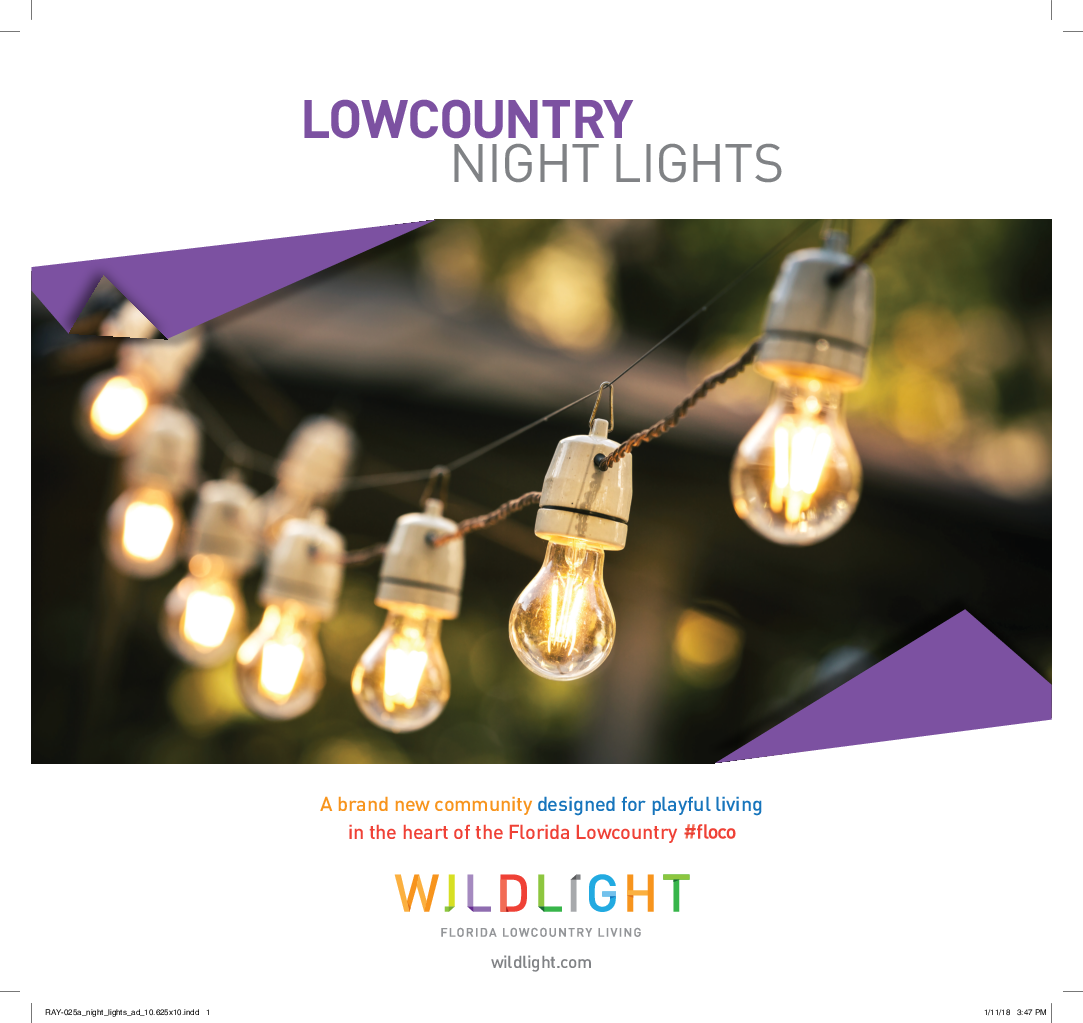 LOW COUNTRY NIGHT LIGHTS By Wildlight In 123 Tinker Street, Yulee, Florida