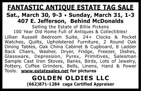 Best Estate Tag Sales Available in Tupelo, MS, Professional